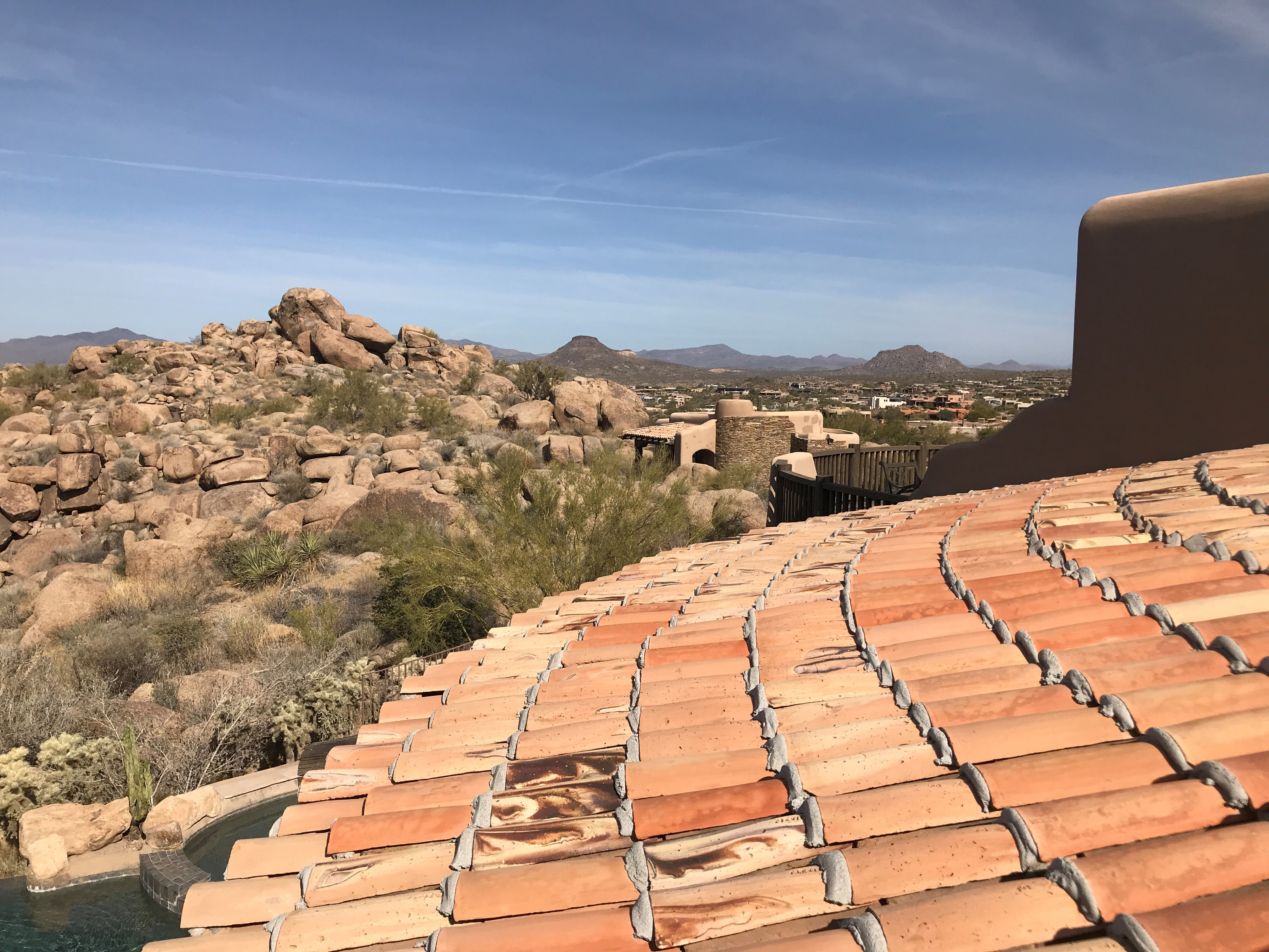 Arizona Mexican Sandcast Roof in Arizona
