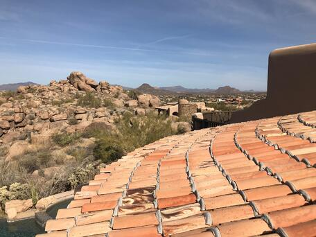 Arizona Mexican Sandcast Roof in Arizona