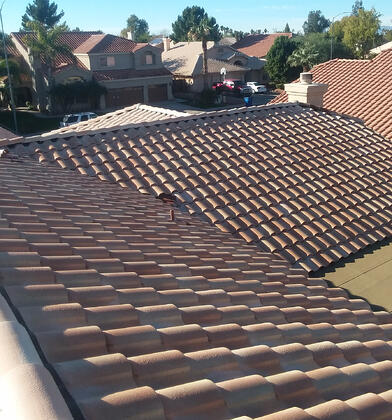 new clay tile roof-1